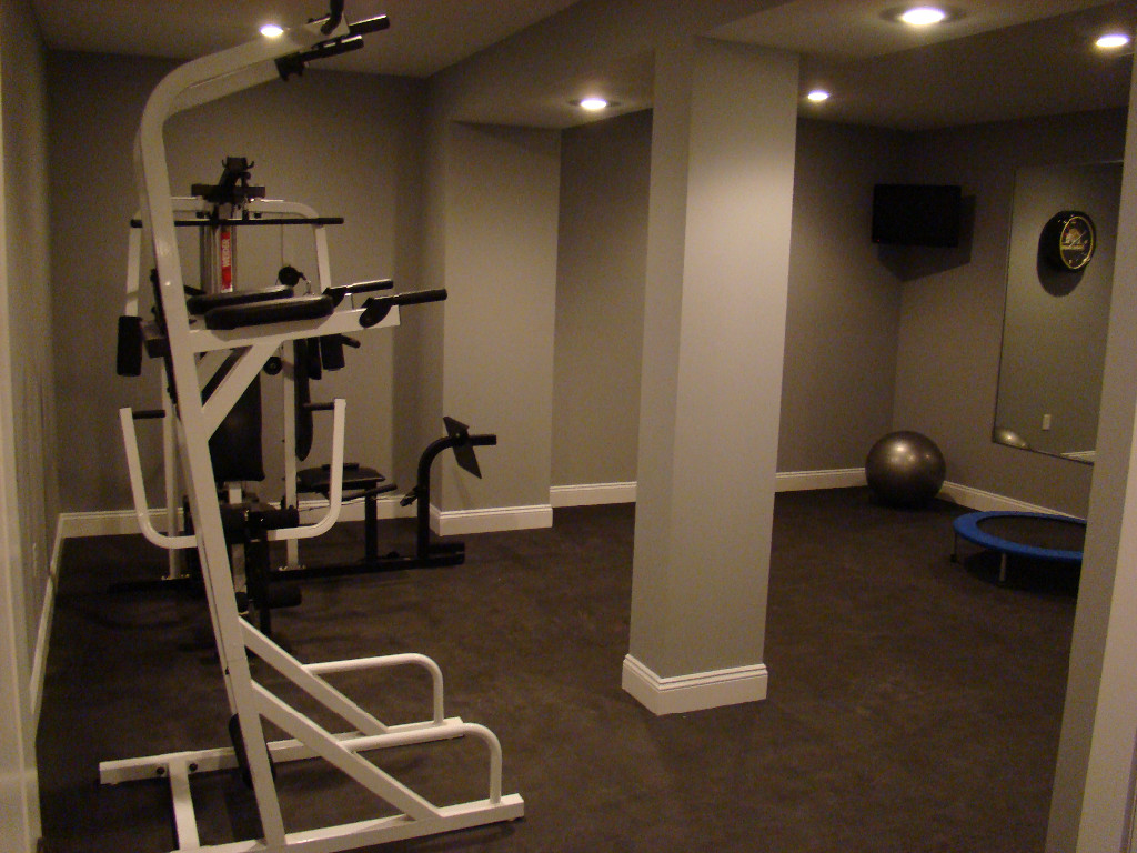 Home Gym Design: Home Gyms Image Gallery