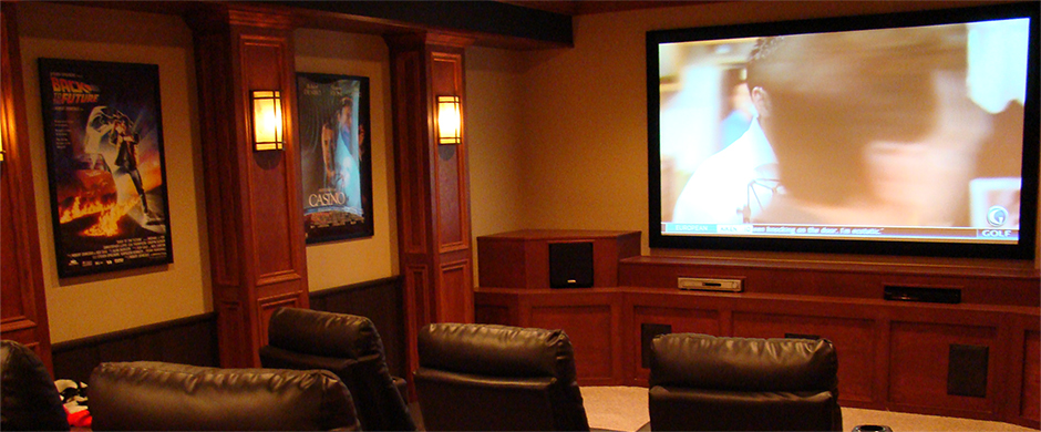 Basement Finishing - Home Theaters
