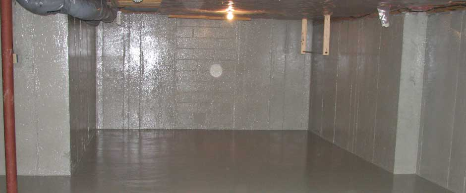 Basement Waterproofing and Radon gas reduction